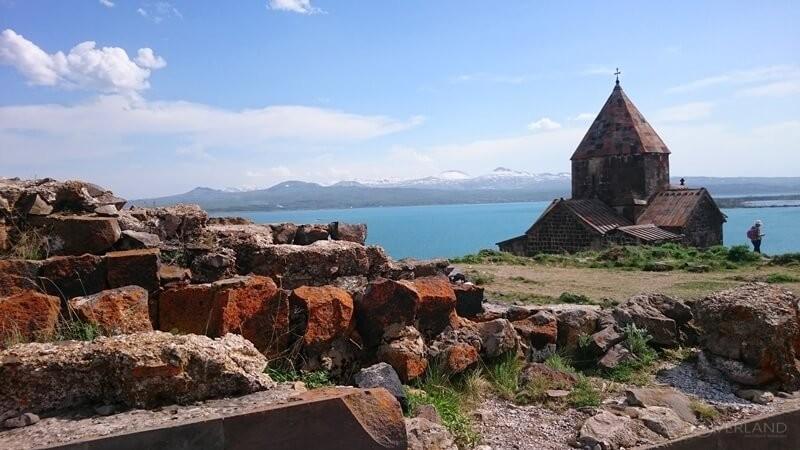 Active tour in Armenia Sevan