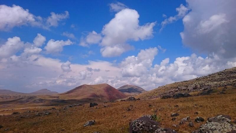 Climbing Azhdahak and hike in Geghama mountains