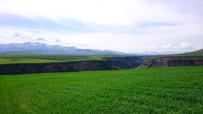 Активный тур в Армению ущелье Дзорагет