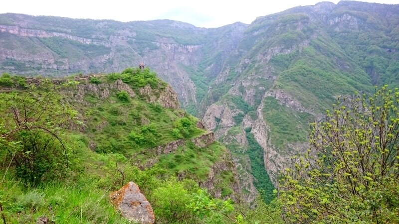 Hiking in Syunik Armenia without tents